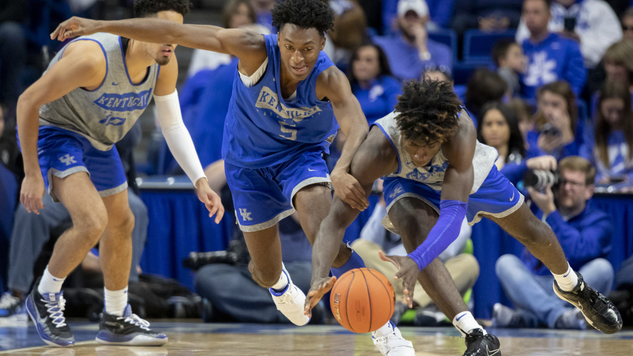 Season will tell if 'way better' is good enough for Kentucky's 'bigs'