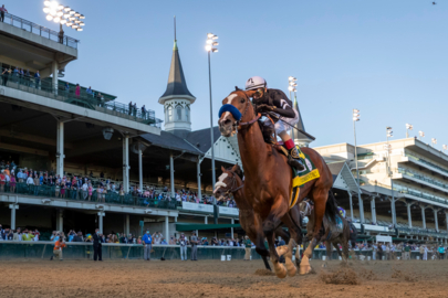 Photo slideshow: Authentic wins the 146th Kentucky Derby