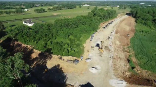 Take a quick flight over the Brannon Road Extension