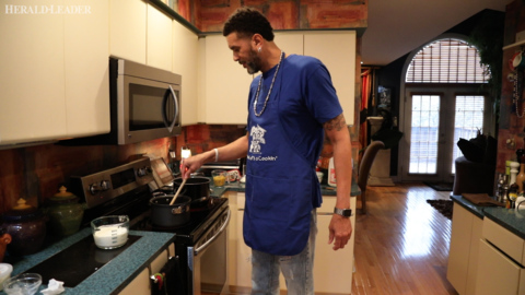 How basketball's Kenny 'Sky' Walker got a nibble at 'Top Chef' table