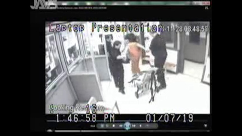 Footage shows Boyd County jail inmate allegedly abused by corrections officers