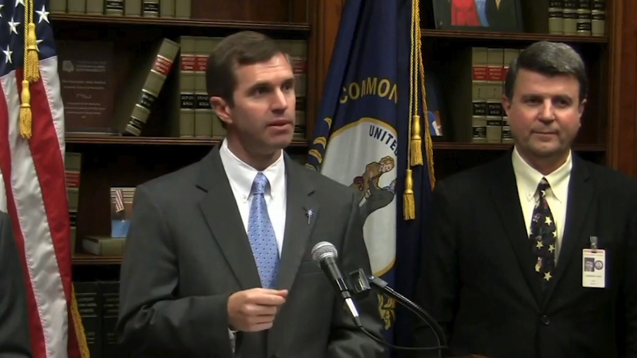 'I'm here to stop him.' Beshear filing lawsuit against teacher 'sickout' subpoenas.