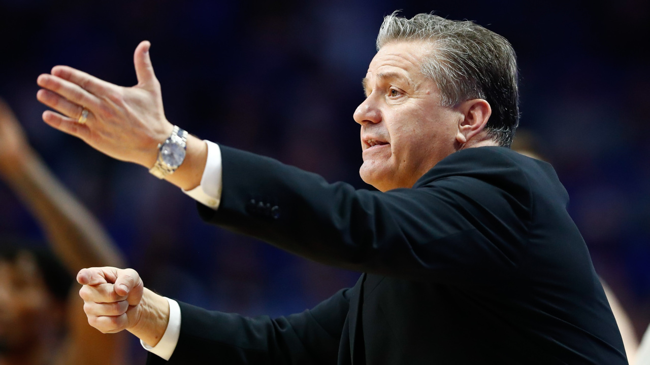 NCAA to announce preliminary top 16 seeds. Calipari likes it, and here's why.