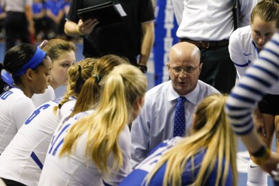 What has pleased Craig Skinner most about UK volleyball's 8-0 start?