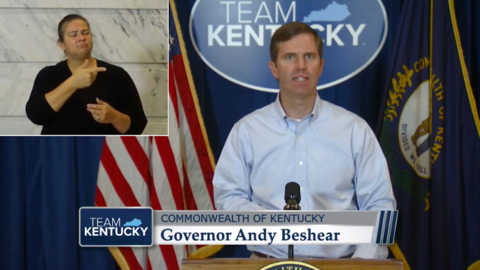 Gov. Beshear condemns shooting of Louisville officers during Breonna Taylor protests