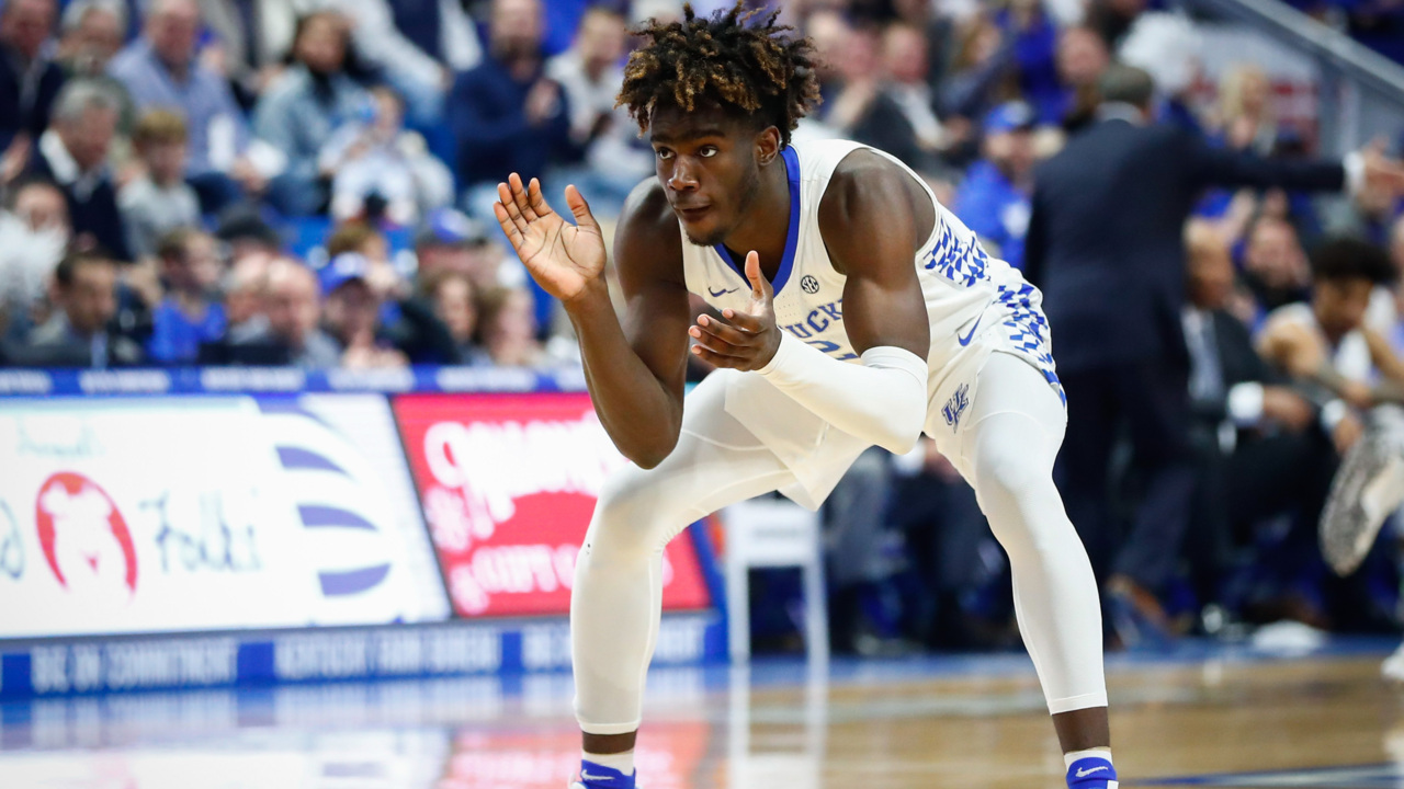 'A difficult decision.' Freshman Kahlil Whitney leaving Kentucky.