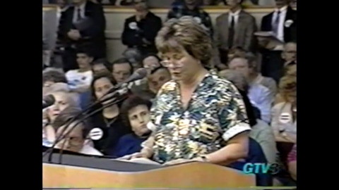 'You can't legislate morality.' Listen to 1999 debate on Fairness Ordinance.