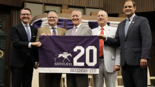 Breeders' Cup announced to return to Keeneland in 2020