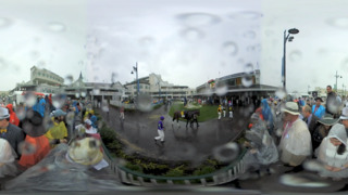 Look around the Kentucky Derby as if you were there with 360-degree views