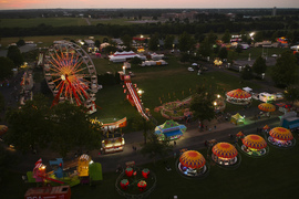 Video shows attractions at this year's Lions Club Bluegrass Fair in Lexington