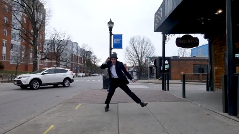 'Like eating a candy bar.' UK student spreads his love of dancing all around Lexington.