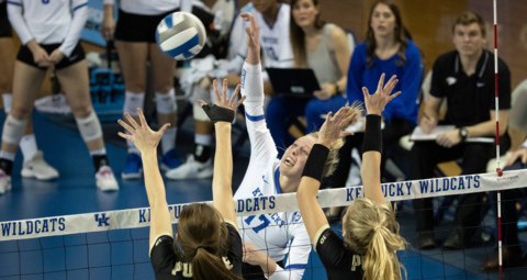 Photo slideshow: UK volleyball defeats Purdue to reach Sweet 16