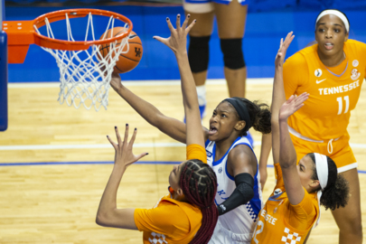 Photo slideshow: Kentucky rolls past No. 16 Tennessee in Rupp Arena