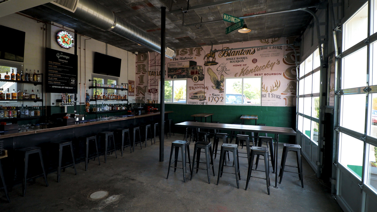 Fill 'er up: New bar opening on Leestown Rd. has garage theme
