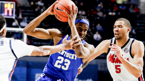 Kentucky determined to win boards against South Carolina