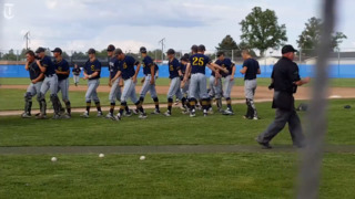 Southridge celebrates its 8-3 victory over Kennewick in the 3A state quarterfinals