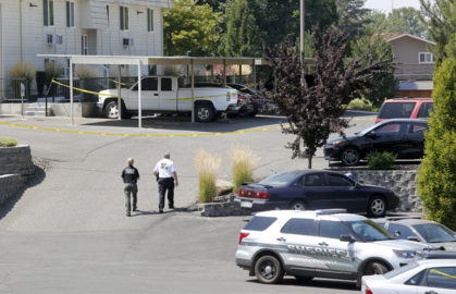 Update: Prosser officer shot during chase with suspect. Then police found another victim