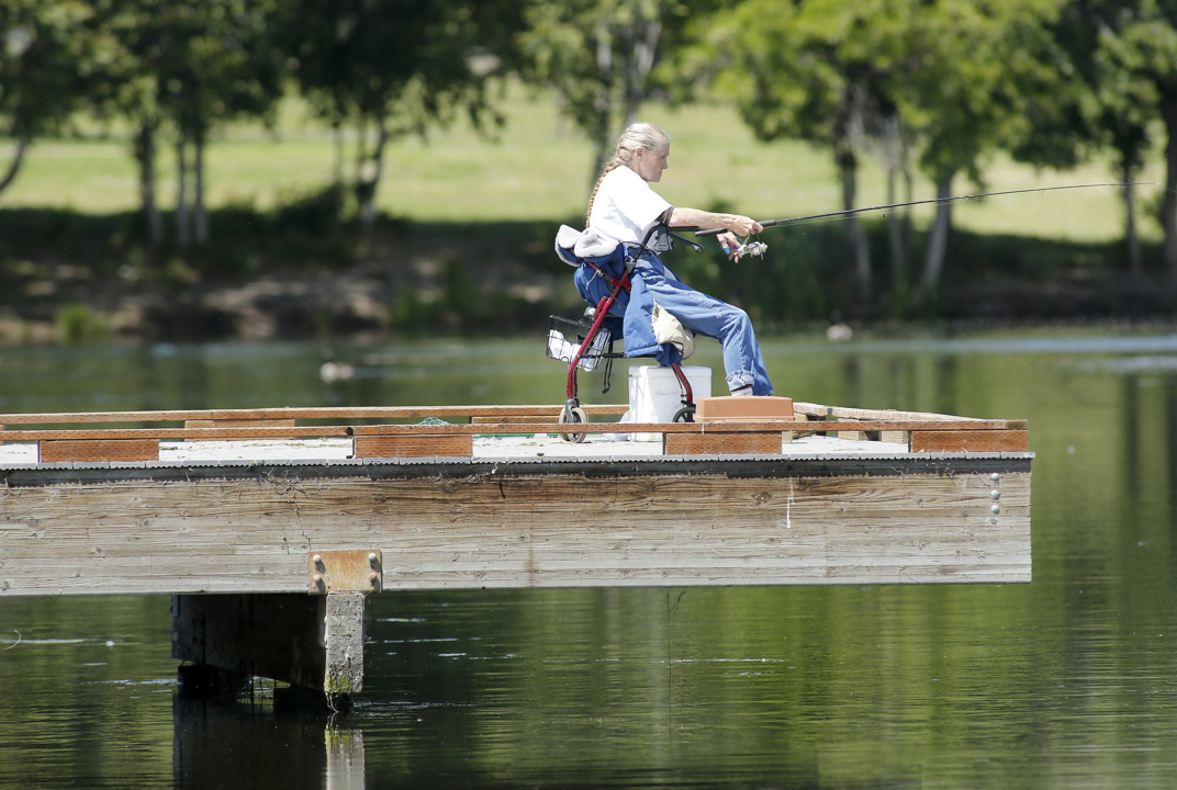 Change in Columbia Park fishing parking irks disabled anglers
