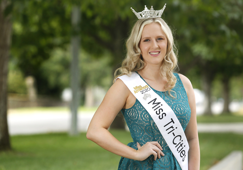 Kennewick woman's persistence finally pays off. She's been selected the new Miss Tri-Cities