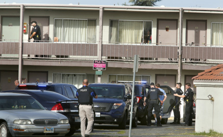 Man wanted in Pasco armed robbery arrested after standoff at Richland motel