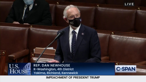 Newhouse decision to impeach Trump took integrity, and incredible courage | Editorial