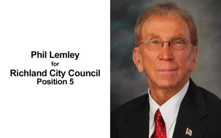 Richland council candidate Phillip Lemley