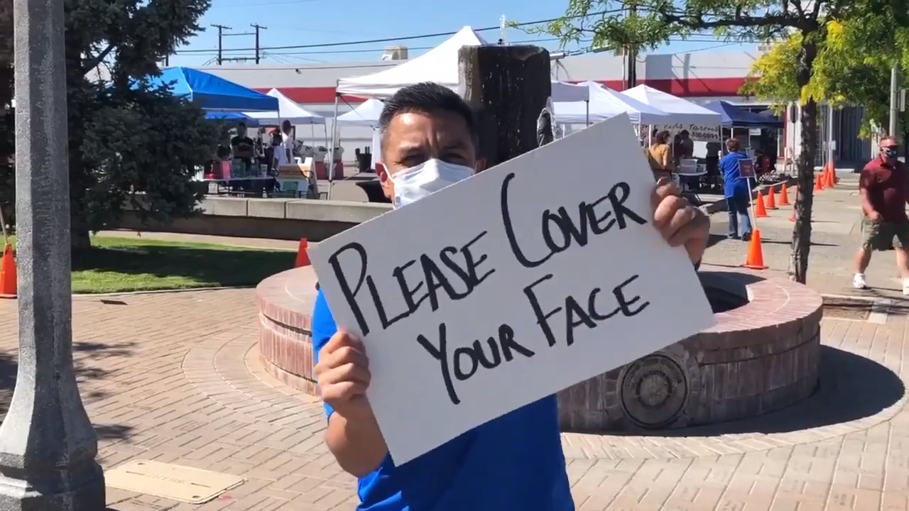 95% of Tri-Cities area shoppers seen wearing masks, shows latest survey