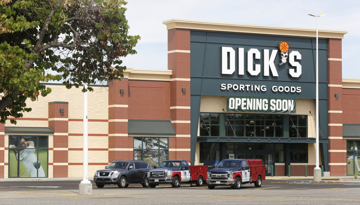 Dick's Sporting Goods is hiring. Tri-Cities unemployment rate is still dragging