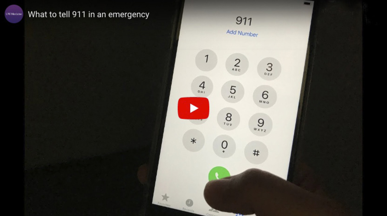 What to tell 911 in an emergency