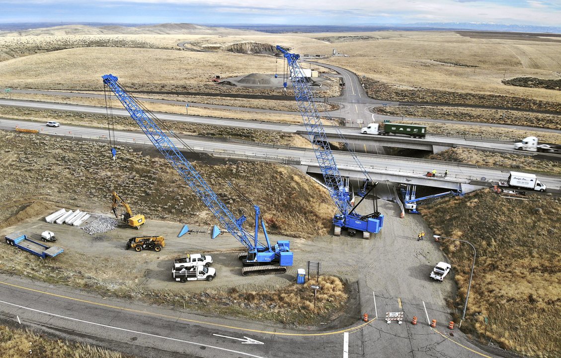 Traffic Alert: Work on damaged I-82 overpass south of Kennewick