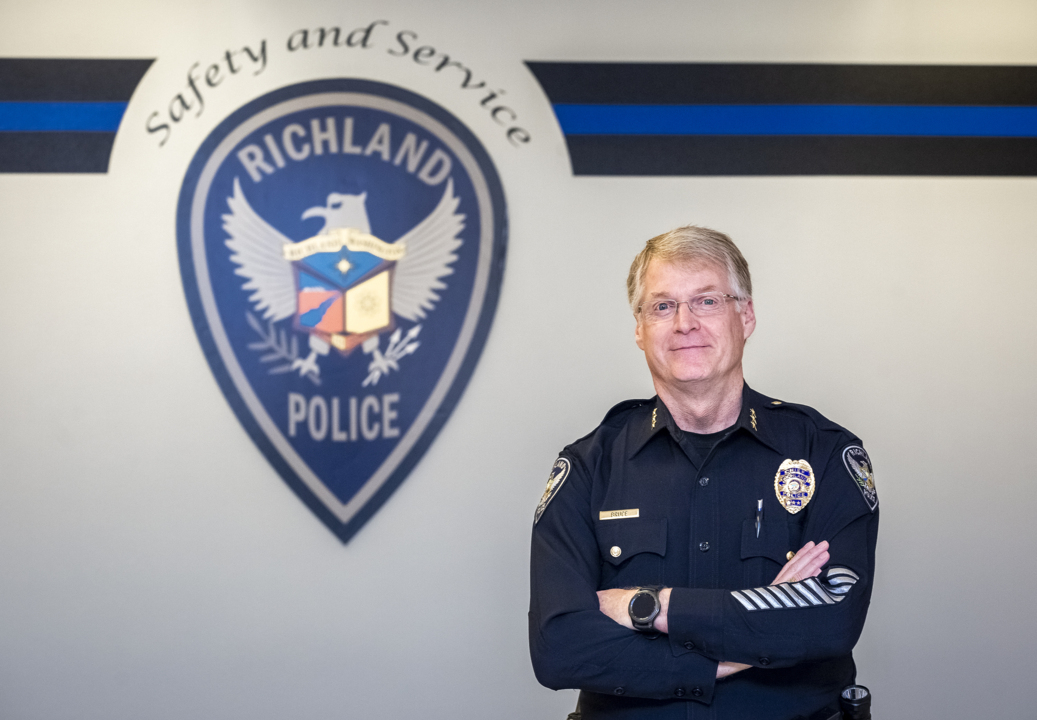 Here's how Richland's new police chief is getting the public's help fighting crime