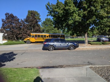 Listen as Pasco police respond to elementary school bus driver stabbing