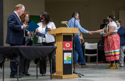 Kennewick ceremony formalizes Tri-Cities, tribal relationship