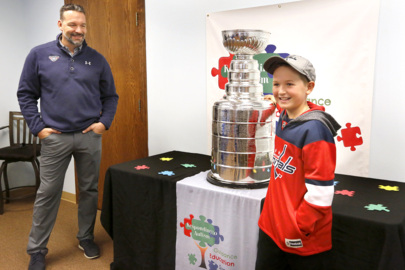 Olie Kolzig's day with the Stanley Cup