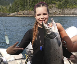 She may be just 12, but this Tri-Cities girl is now 'Queen of the Silver Salmon Sisterhood'