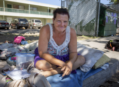 This homeless woman says she can't get the help she needs. 'I'm not really that far gone.'