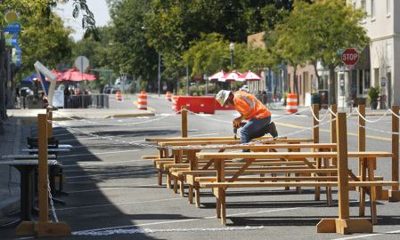 Downtown Kennewick streets close for 8 weeks. Open-air dining and shopping take over