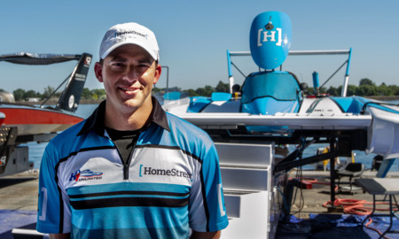 Hydroplane driver Jimmy Shane discusses racing