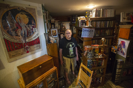 This book collector has 30,000 books in his home
