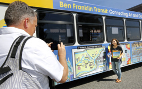 Southridge student tops in Ben Franklin Transit art contest