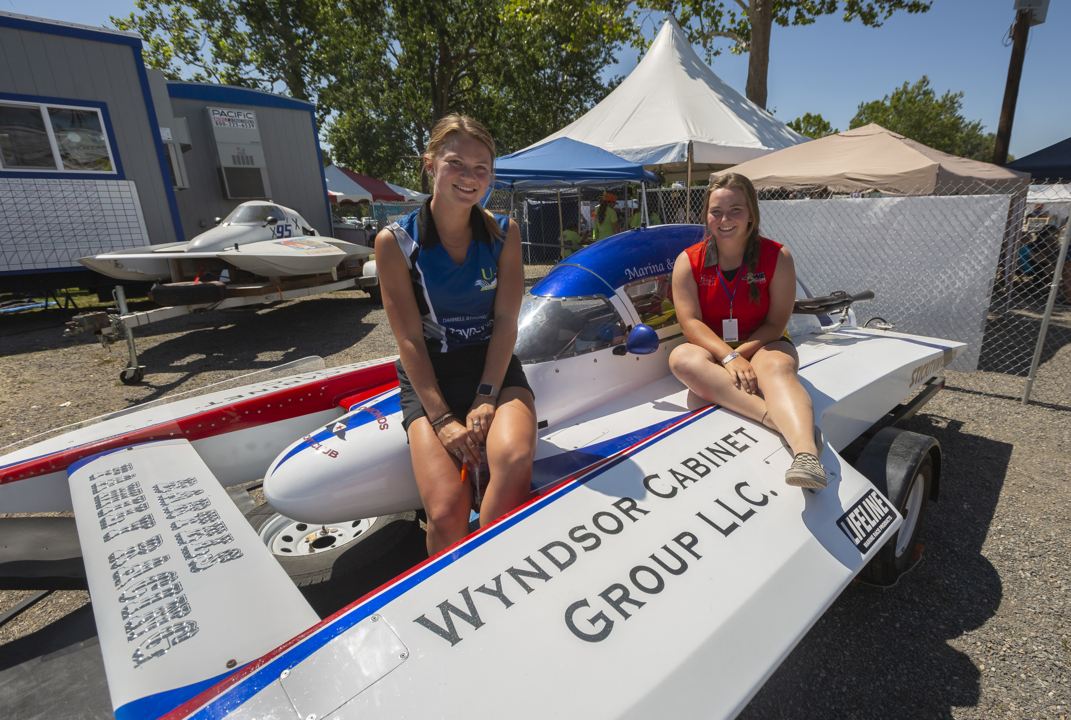 These sisters grew up with a passion for boat racing. This year they got in on the action