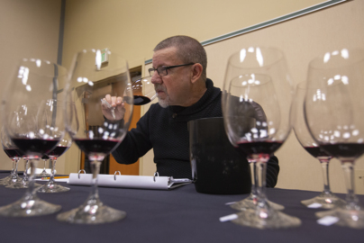 Behind the scenes wine judging at the 40th annual Tri-Cities Wine Festival
