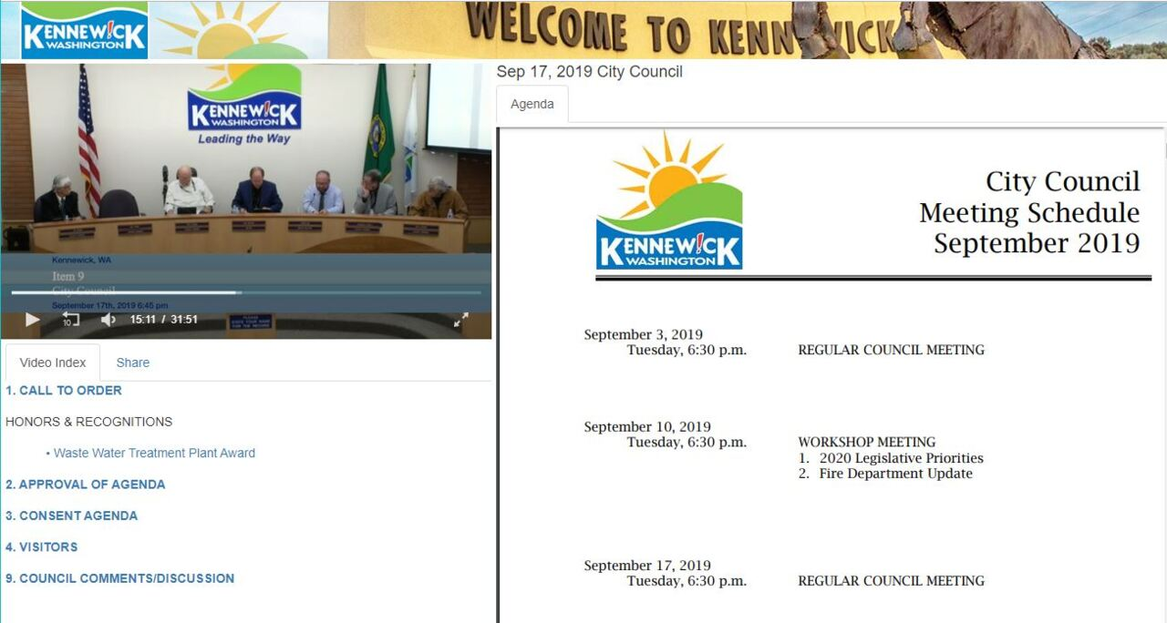 Looking for something to watch? Kennewick council turns on its cameras