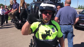 Meridian Police Department lip sync music video