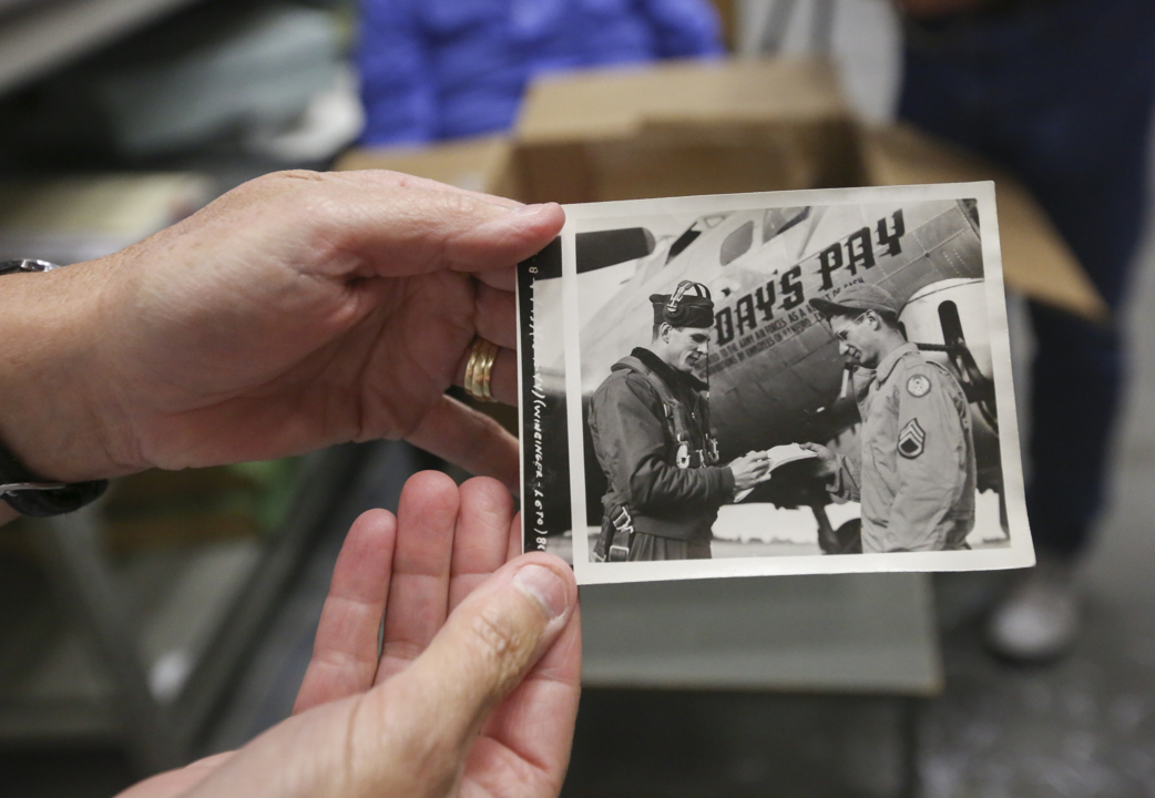 Hanford workers donated paychecks to buy a WWII bomber. Hear from the flight crew's family