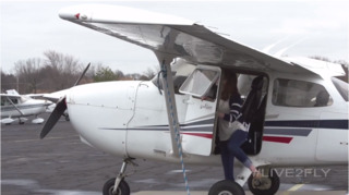 Kansas woman competes in a cross-country women's air race