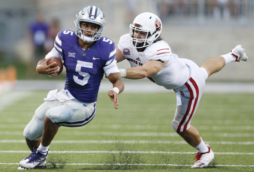 K-State QB transfer Alex Delton already making 'big difference' at TCU