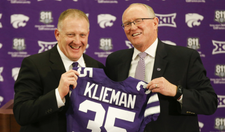 Kansas State coach Chris Klieman wins the dang day in a big way against Oklahoma
