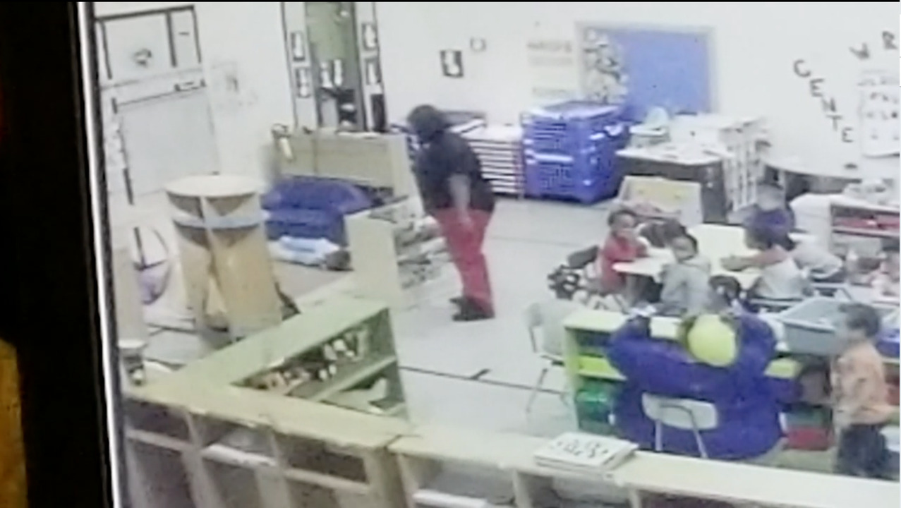 Teacher throws child at St  Louis MO daycare: security video