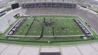 See turf get removed from the K-State football stadium in 30 seconds